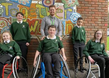 Sports Wheelchairs Donated by CWSNF