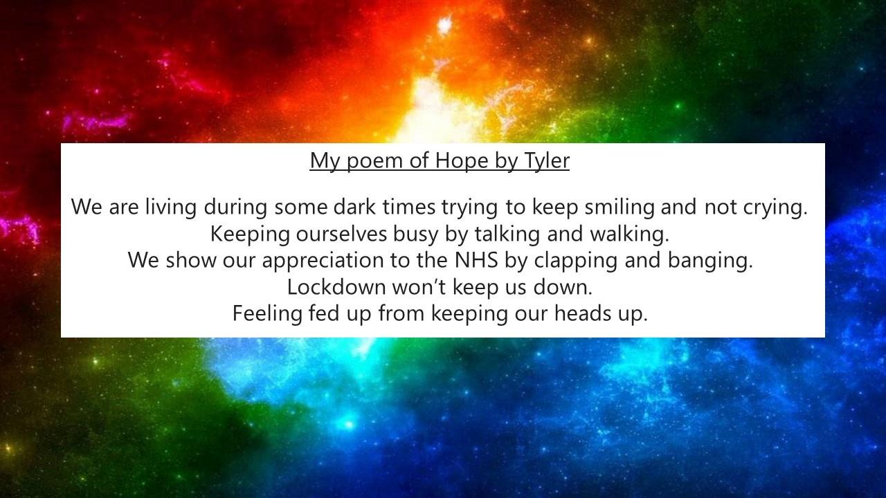 Poem of Hope